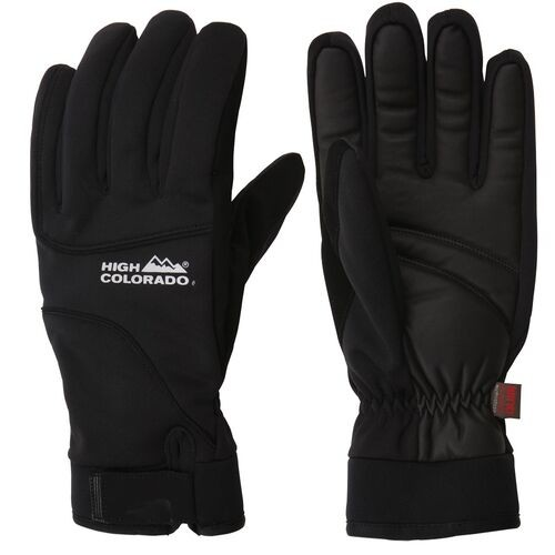 High Colorado Unisex John 2-A Softshellhandschuhe Outdoorhandschuhe schwarz