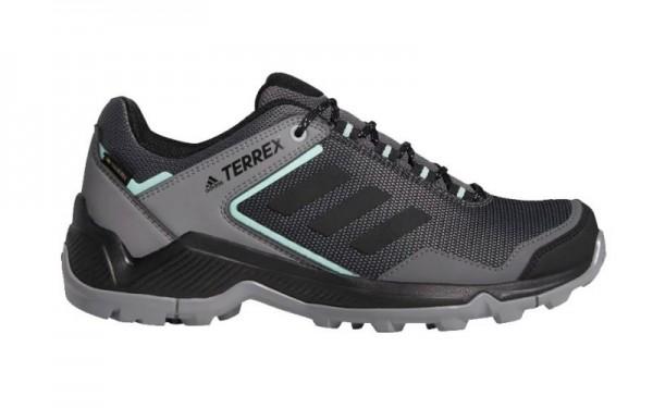 Adidas Damen Terrex Eastrail GTX Wanderschuh Trekkingschuh grau-schwarz-mint