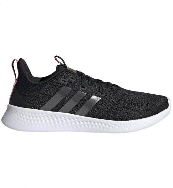 Adidas Damen Puremotion Sneaker Freizeitschuh schwarz-weiß-grau