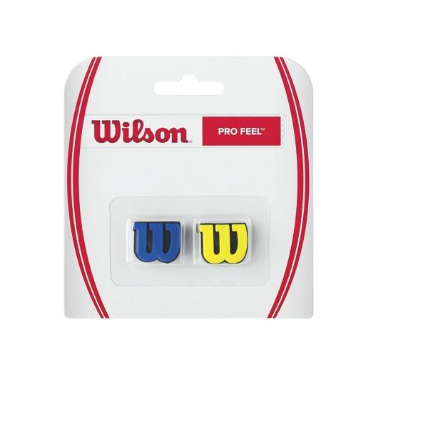 Wilson Pro Feel Vibrationsdämpfer Blau/Gelb