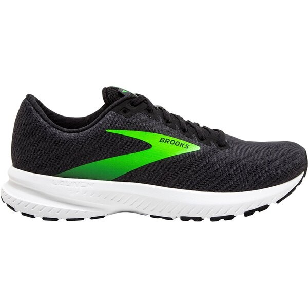Brooks Herren Launch 7 Laufschuh ebony-black-gecko