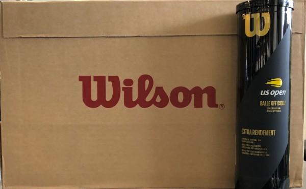Wilson US Open Tennisbälle 18x 4er Dose Karton