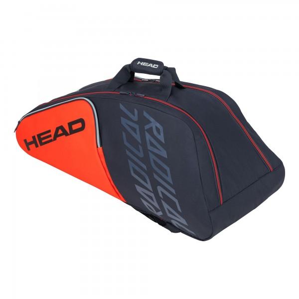 Head Radical 9R Supercombi Tennis Tasche orange-grau