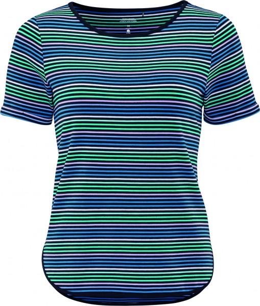 schneider sportswear Damen LORRIW Freizeitshirt T-Shirt dunkelblau-wave