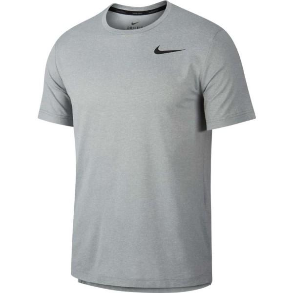 Nike Herren Pro Trainingsshirt Funktionsshirt grau
