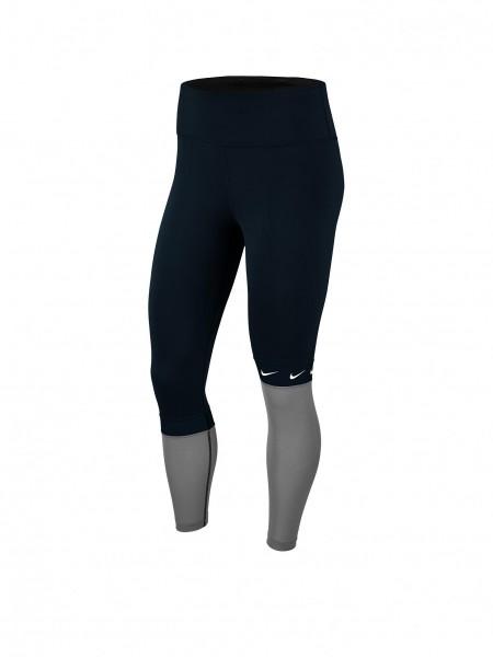 Nike Damen All-In Trainingshose Tight schwarz-weiß