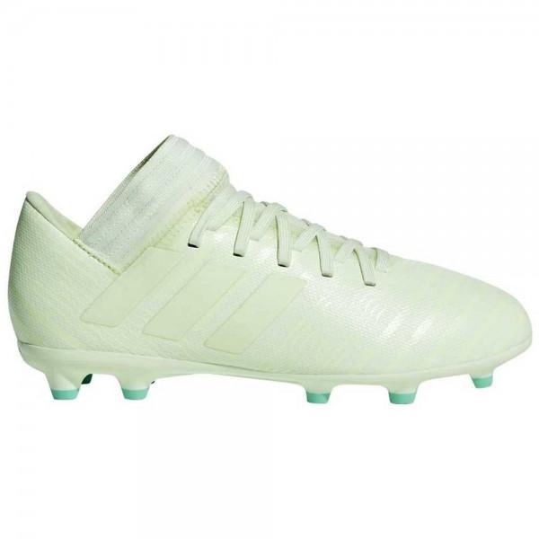 Adidas Kinder Nemeziz 17,3 FG J Fußballschuh hellgrün/Grün