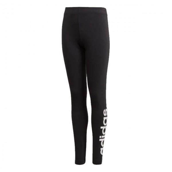 Adidas Kinder Essentials Linear Tight Leggings schwarz-weiß