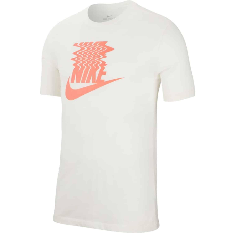 official photos 410ae 6ad09 Nike Herren T-Shirt weiß & orange