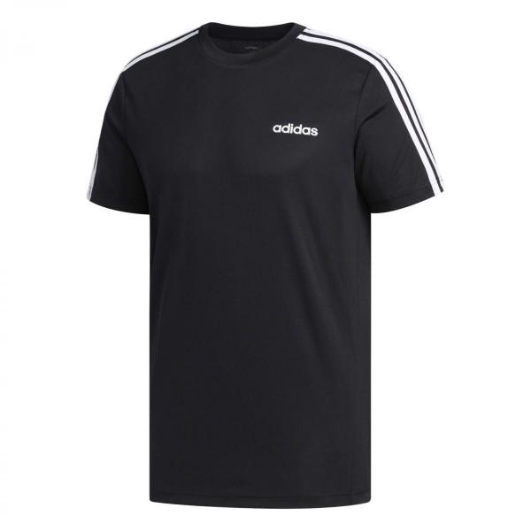 Adidas Herren Design to Move Trainingsshirt Funktionsshirt schwarz-weiß