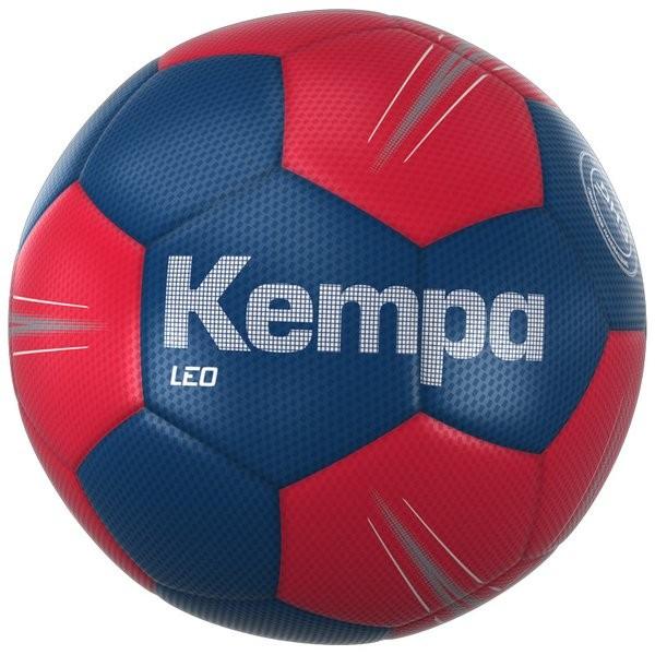 Kempa Leo Handball ocean-blau/lighthouse-rot