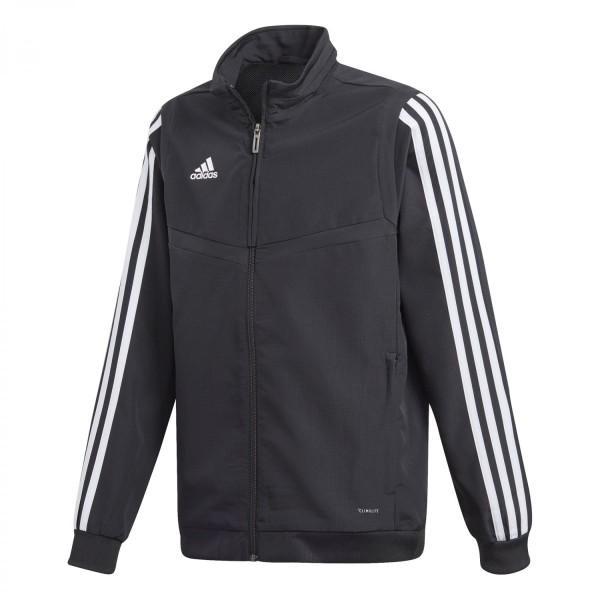 Adidas Kinder Tiro 19 Präsentationsjacke schwarz-weiß