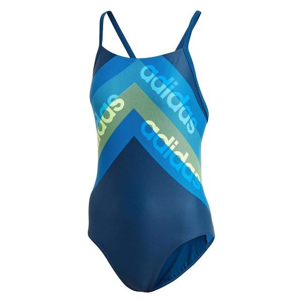 Adidas Damen Badeanzug FIT 1PC LIN legend/marine