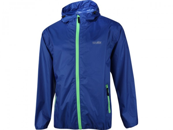 High Colorado Unisex Regenjacke Windbreaker blau
