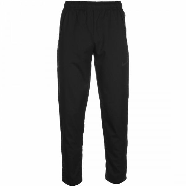 Nike Herren Dri-Fit Woven Trainingshose Sporthose schwarz