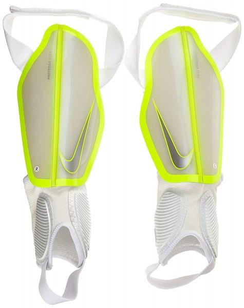 Nike Kinder Schienbeinschoner Protegga Flex weiß/gelb
