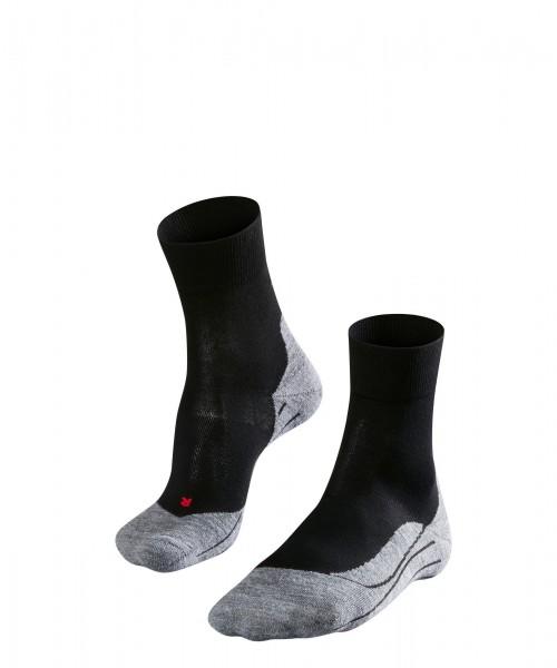 Falke Damen Running und Fitness Socken Strümpfe RU 4 schwarz-grau