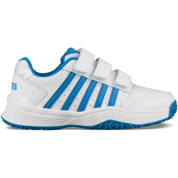 K-Swiss Kinder Tennisschuhe Allcourt Court Smash Strap Omni