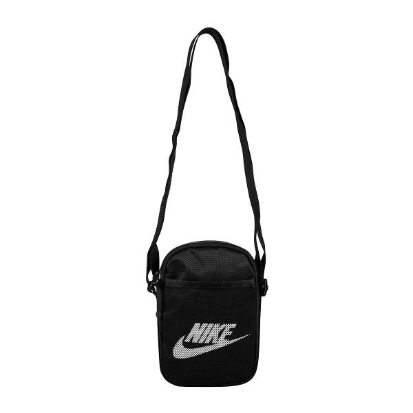 Nike Heritage Small Items Waist Pack Umhängetasche schwarz/weiß