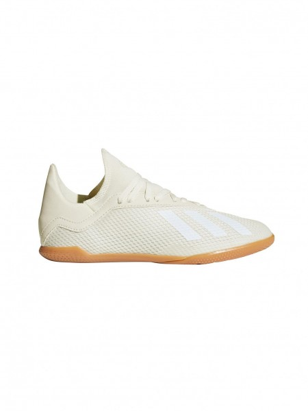 cheap for discount 4fb61 e2ebe Adidas X Tango 18,3 Hallenschuh Cremeweiss Kinder
