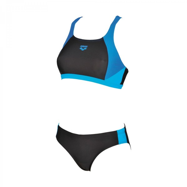 Arena Damen Ren Two Pieces Bikini black-pix blue-turquoise