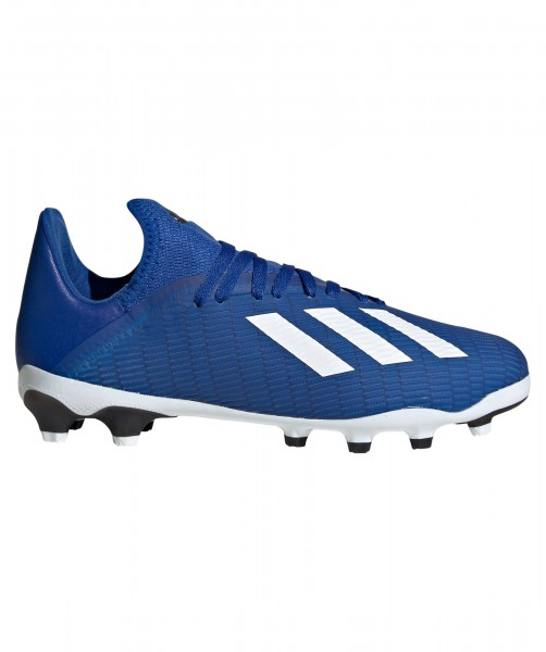 Adidas Kinder X 19.3 MG Fußballschuh blau-weiß