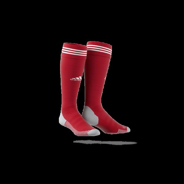 Adidas Adi 18 Socken Fußballstutzen rot-weiß
