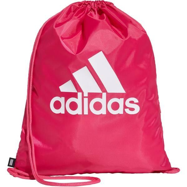 Adidas Gymsack Sportbeutel pink-weiß