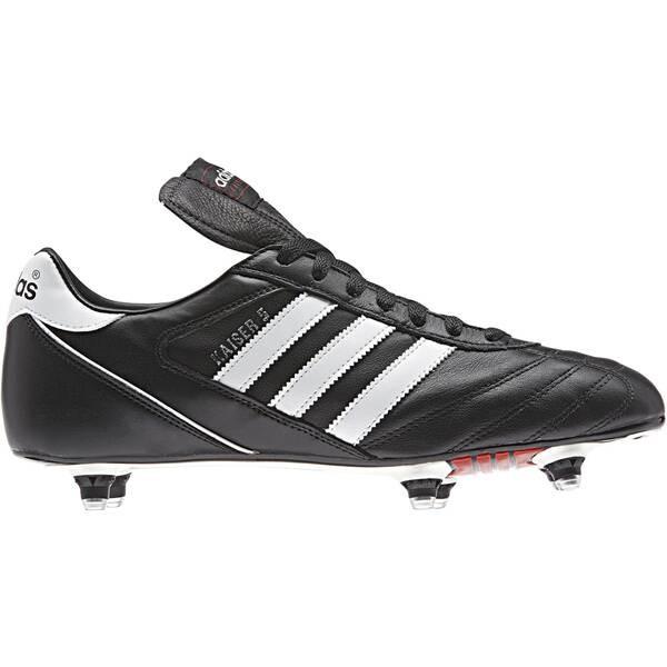 Adidas Herren Kaiser 5 Cup Fussballschuh schwarz-weiß