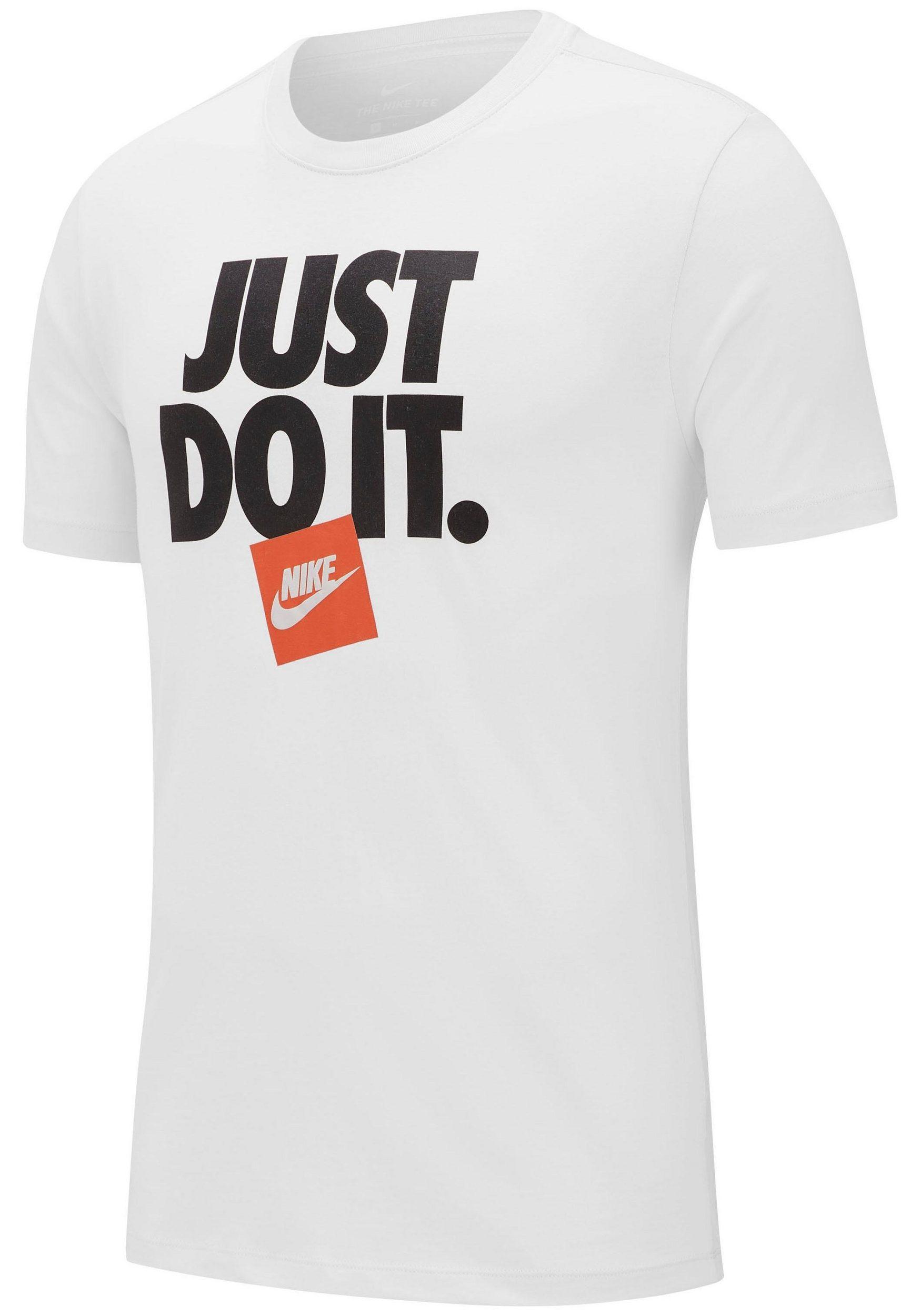 c0a6d3633ffb5b Vorschau: Nike Herren T-Shirt Just Do it Tee III weiß/schwarz ...