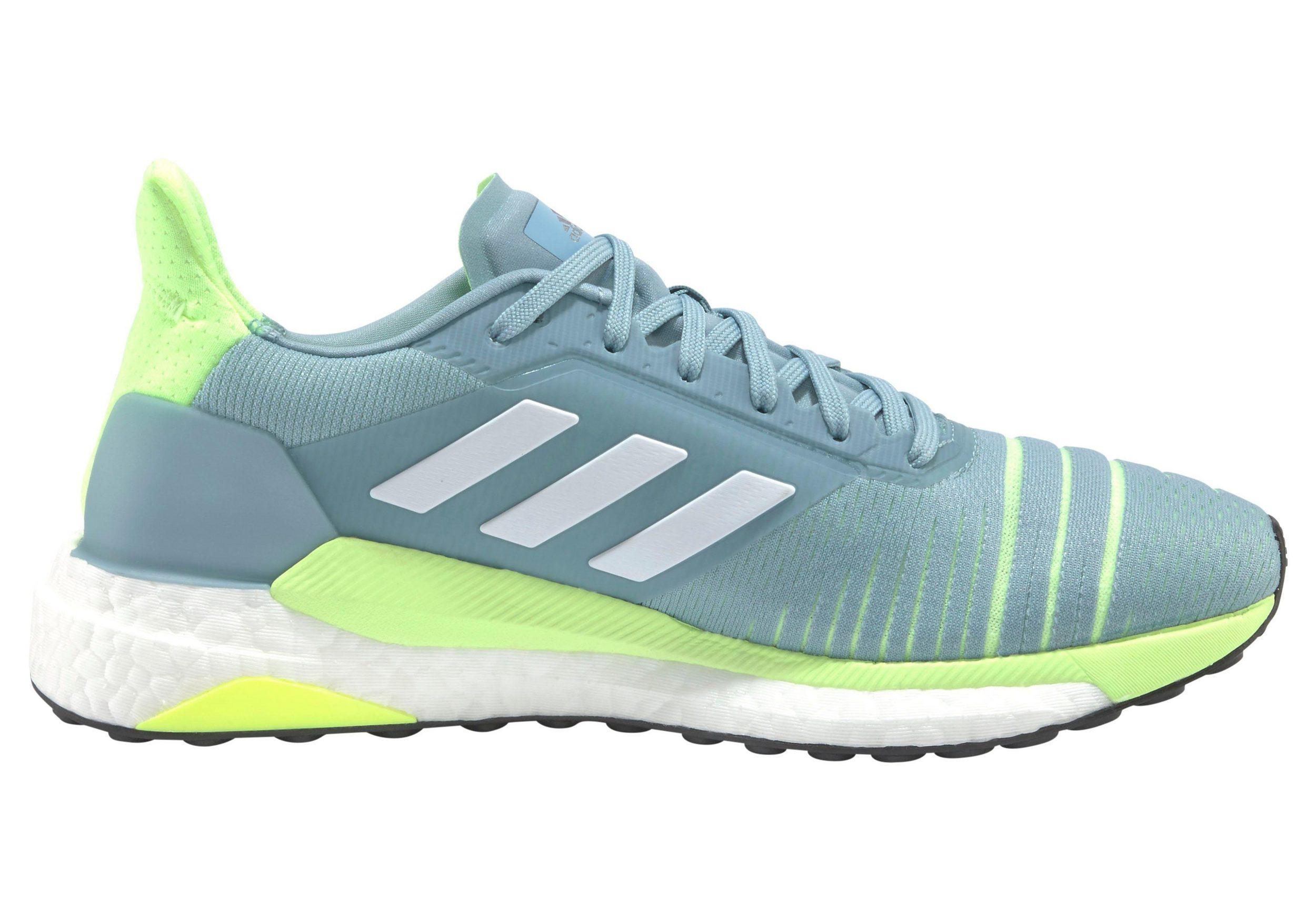 Adidas Damen Solar Glide Laufschuh mint-neongrün