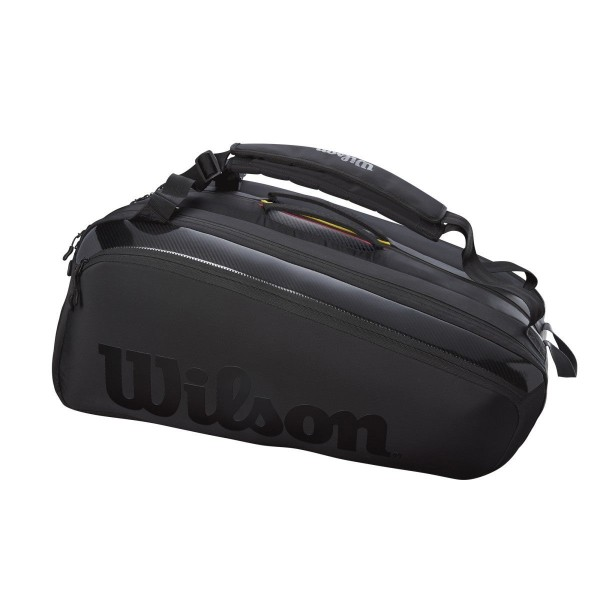 Wilson Super Tour 15 Pack Pro Staff Tennis Tasche schwarz