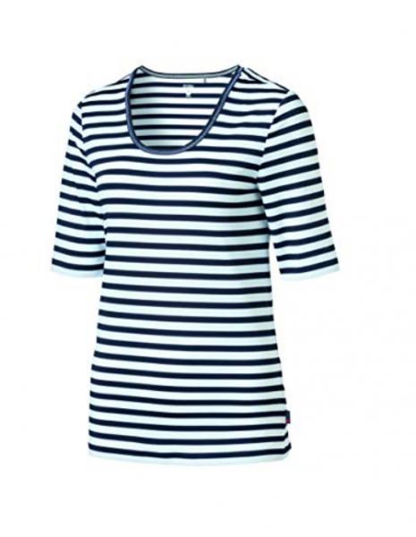 Schneider Sportswear DESYW-Shirt Weiß/Dunkelblau