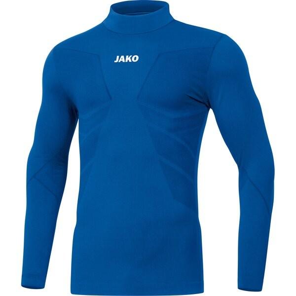 Jako Kinder Turtleneck Comfort 2.0 Underwear Funktionsshirt blau