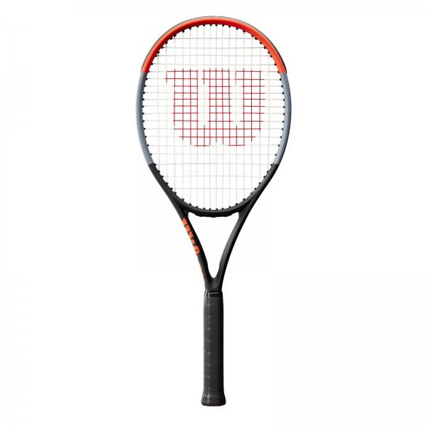 Wilson Clash 100L Tennisschläger schwarz-garu-rot