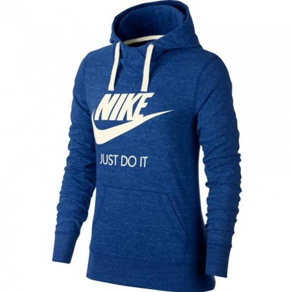 Nike Damen Kaputzenpullover Vintage Hoodie