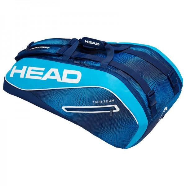 Head Tennistasche Tour Team 9R Supercombi blau/weiss