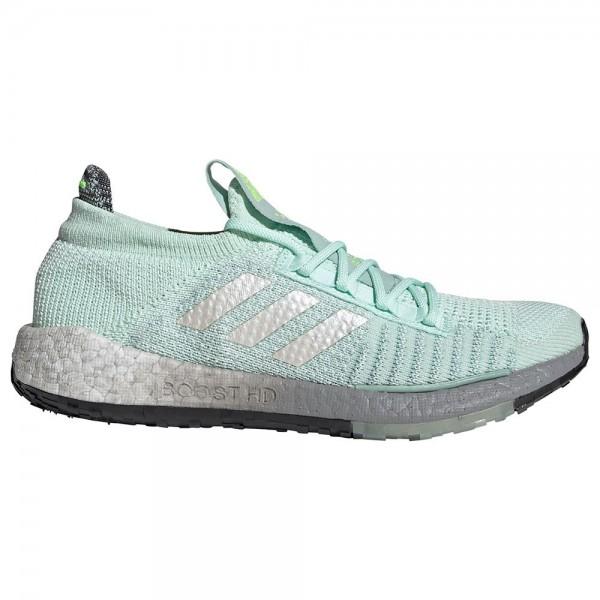 Adidas Damen PulseBoost HD Laufschuh türkis-grau-weiß