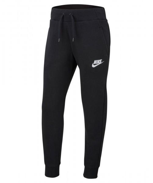 Nike Mädchen Sportswear Jogginghose Sporthose schwarz-weiß