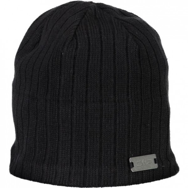 CMP Man Knitted Hat Nero Tg. U