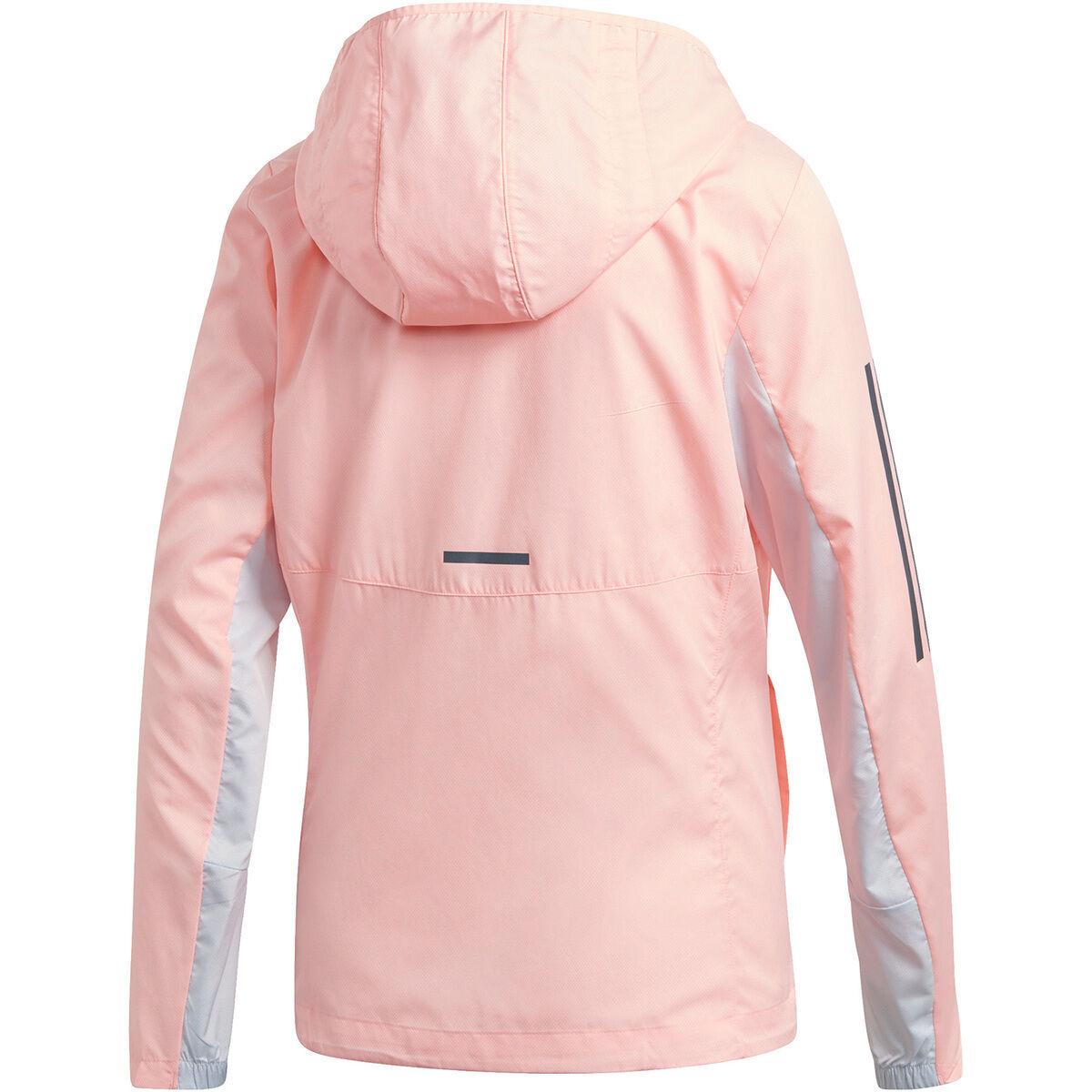 Adidas Damen Own The Run Jacket Laufjacke rosa | eBay