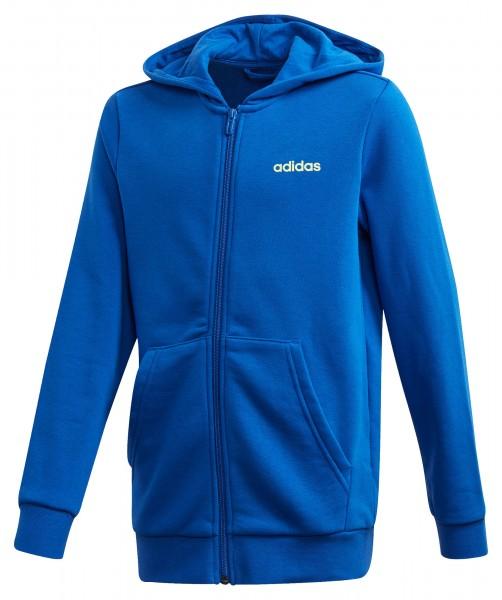 Adidas Jungen Essentials Linear Full Zip Hoodie Kapuzenjacke blau