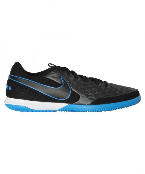 Nike Herren Tiempo Legend 8 Academy IC Hallenschuh schwarz-blau-weiß