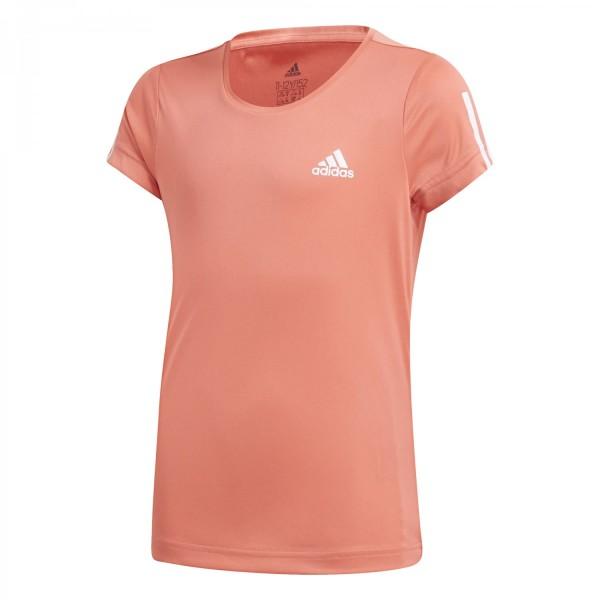 Adidas Kinder TR Equipment Tee Trainingsshirt Funktionsshirt coral