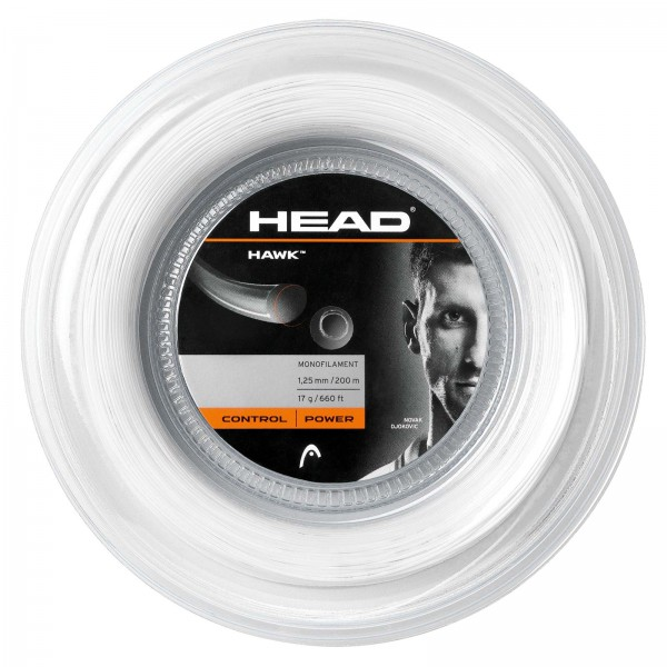 Head Hawk 200m Tennissaite weiß