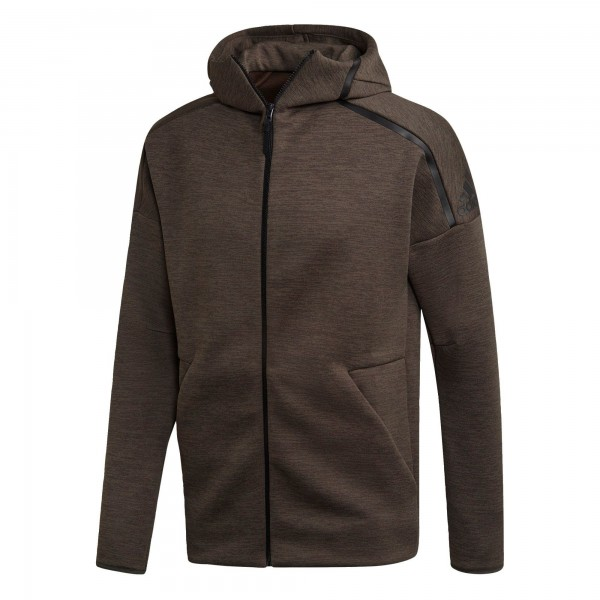 Adidas Herren Z.N.E. Full Zip Hoodie Kapuzenjacke legear/black