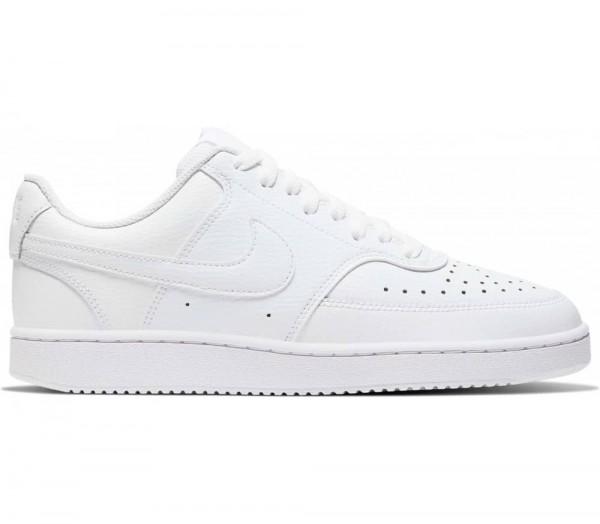 Nike Herren Court Vision Low Freizeitschuh weiß