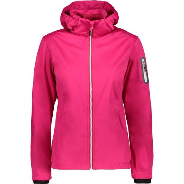 CMP Damen Funktionsjacke pink/weiß