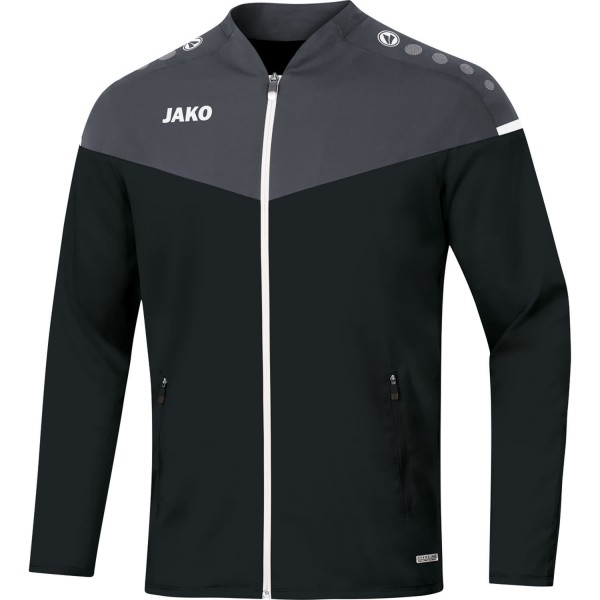 Jako Herren Champ 2.0 Präsentationsjacke Trainingsjacke schwarz-anthrazit