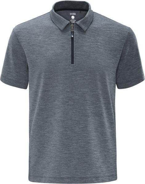 schneider sportswear Herren MELM Poloshirt grau